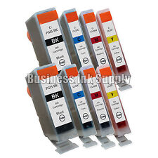 8 Ink Cartridge for Canon 2 PGI-5 BK 6 CLI-8 Color CMY