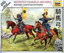 Zvezda 1/72 6416 Mounted Samurai - Archers (The Sengoku Period of Japan)