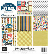Dad Father Family Man Collection 12X12 Scrapbooking Kit Echo Park Paper New