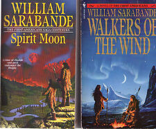 Complete Set Series - Lot of 11 First Americans Saga Books by William Sarabande