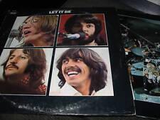 The Beatles Let it Be w/ POSTER sw11922 capitol nm+ lp! wow john lennon vinyl!!!