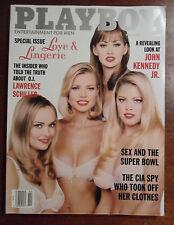 Playboy Magazine Feb 1997 ~ Lingerie + Jayne Hayden + Kimber West Centerfold
