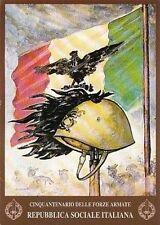 1848) CINQUANTENARIO DELLE FORZE ARMATE DELLA REPUBBLICA SOCIALE ITALIANA.