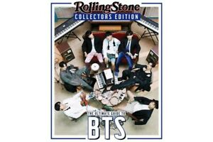 BTS Rollingstone-India Collectors Edition Nov 2020 with a poster inside