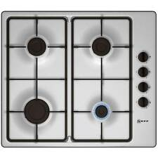 Neff T26BR46N0 Built In Gas Hob 4 Hotplate Burners in Stainless Steel