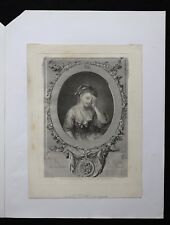 François R. le Jeune INGOUF (1747-1812) d'après Jean-Baptiste GREUZE (1725-1805)