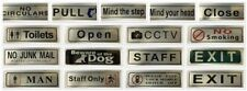 Metal Modern Decorative Plaques & Signs
