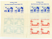 Liberia Stamps $5 UNICEF (C77TCP) Proof Sheets Scarce