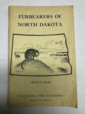 1961 Book Furbearers of North Dakota Trapping lots of Information
