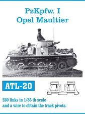 1/35 Friulmodel ATL-20 Pz.Kpfw I Opel Maultier Friul Metal Tracks