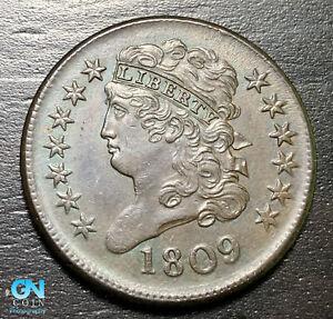 1809 Classic Head Half Cent --  MAKE US AN OFFER! #B6377
