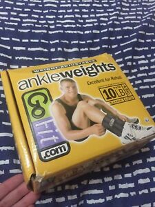 Go Fit Ankle Weights Adjustable