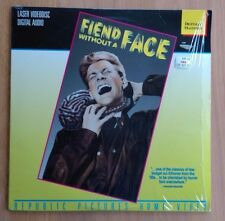 Fiend Without A Face - NTSC Laserdisc LV27210 - Excellent Condition