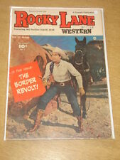 ROCKY LANE WESTERN #7 VG+ (4.5) FAWCETT COMICS NOVEMBER 1949