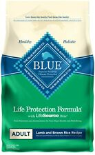 Blue Buffalo Life Protection Natural Adult Dry Dog Food Lamb & Brown Rice 6 Lbs