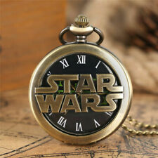 Watch Women Modern Men Necklace Steampunk Star Wars Popular Bronze Quartz Pocket