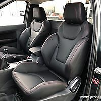 FORD RANGER EVEREST GTS SEAT CONVERSION GENUINE ITALIAN LEATHER PJ PK PX PX2