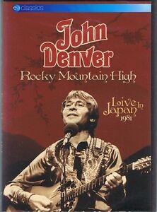 JOHN DENVER Rocky Mountain High DVD Live In Japan 1981 NEW & SEALED Free Post
