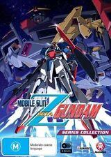 Mobile Suit Zeta Gundam (DVD, 2014, 8-Disc Set) Good  Region 4