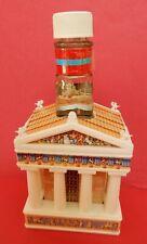 Parthenon Souvenir Ouzo Bottle - Empty