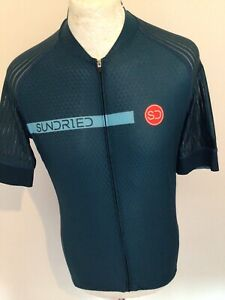SUNDRIED CADENCE SHORT SLEEVE MENS CYCLING JERSEY LARGE BNWT NEW NEW