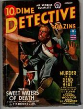 Dime Detective Jan 1943 Cornell Woolrich, T. T. Flynn- Mr. Maddox