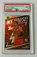 2019-20 Panini Optic My House Holo PSA 9 Trae Young #18 Atlanta Hawks