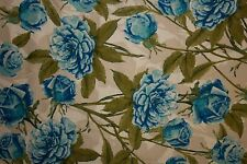 Floral Poplin Print #26 Cotton Lycra Spandex Stretch Woven Apparel Fabric BTY