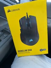 NEW Corsair Ironclaw RGB FPS/MOBA Gaming Mouse - Black
