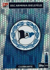 Topps Match Attax 18/19 Bundesliga 2018/2019 Card No. 502 Arminia Bielefeld