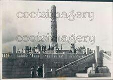 Monolith Vigeland Sculpture Oslo Norway Press Photo