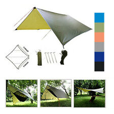Waterproof Outdoor Camping Tents Tarp Sun Shelter Rain Cover Tarptent Camp Gear