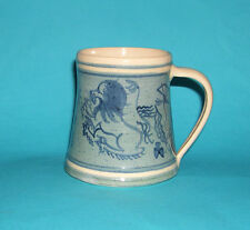 Old Hampstead / Seviers Studio Pottery Coronation Hand Painted Mug 1953 - Marks