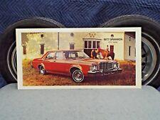 Big Dealer Showroom Promotional Poster Red 1977 Ford Granada Dealership Sign 77