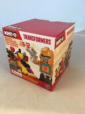 Hasbro Transformers KRE-O KREO Brick Box Bumblebee Sealed Unopened