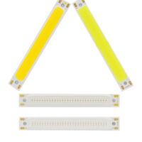 1/5Pcs 1/3w Warm/Cool White Strip Lamp DC 3V LED Panel Light COB