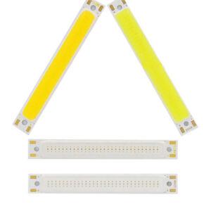 1/5pcs 1/3w Warm/Cool White Strip Lamp DC 3V LED Panel Light COB Chip Y`hw