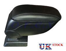 New 1x Armrest Center Console Black Leather Padded for Opel Astra H 2004-2013
