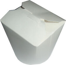 20 x Disposable Chinese Box Takeaway Closable Card Paper Packaging Box