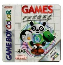 Nintendo GameBoy Color Spiel - Games Frenzy Modul