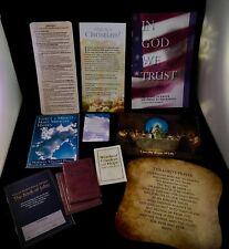 Lot of Christian Booklets Tracts Bible Verses Keepsakes bookmarks EUC