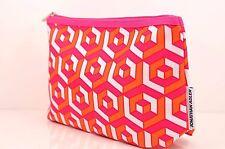 Clinique Jonathan Adler Makeup Accessories Orange Pink Bag