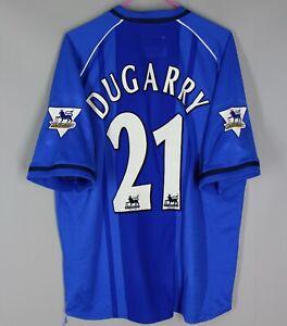 BIRMINGHAM CITY FC 2002 2003 HOME FOOTBALL SHIRT JERSEY #21 DUGARRY SIZE 42/44