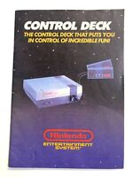 NINTENDO NES System Original Control Deck Manual Booklet Book