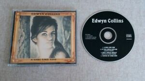 Edwyn Collins A Girl Like You 1995 UK CD Single ZOP003CD VG/Ex Indie Rock