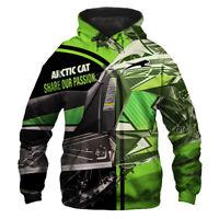Arctic Cat Hoodie-Zip Hoodie-Sweatshirt - Free shipping-Top Men's shirts