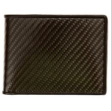 Dalani Carbon Fiber Bifold Wallet with RFID Blocking Protection