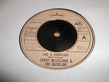 "SANDY McLELLAND & THE BACKLINE "" LIKE A HURRICANE "" 7"" SINGLE 1978 EXCELLENT"