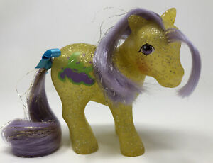 My Little Pony Vintage G1 MLP Glitter Sparkle Pony ~ Napper ~ Store Variant