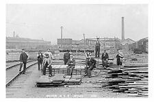 pt1604 - Shildon NER Works , Durham - photograph 6x4